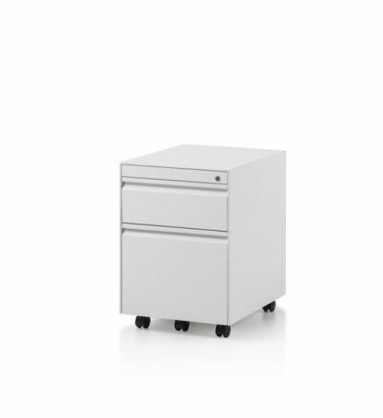 CK8 2 Drawer mobile pedestal by Herman Miller