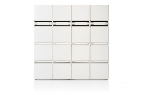 CKL Staff lockers by Herman Miller