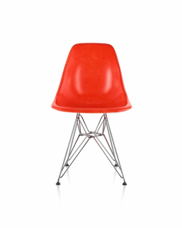 Eames Moulded Fiberglass Chair DSR, Eames Moulded Fiberglass Chair with Wire Base, Eames DSR with Fiberglass, DSR chair with fiberglass