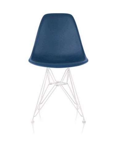 Eames Moulded Plastic Chairs, Eames Moulded Plastic Wire Base, Eames Plastic DSL