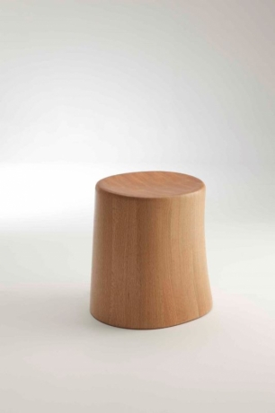 Ross Didier Timber Stool, Elfin Timber Stool