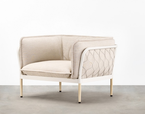 Trace Armchair design by Adam Goodrum, Trace Single Seater by Tait