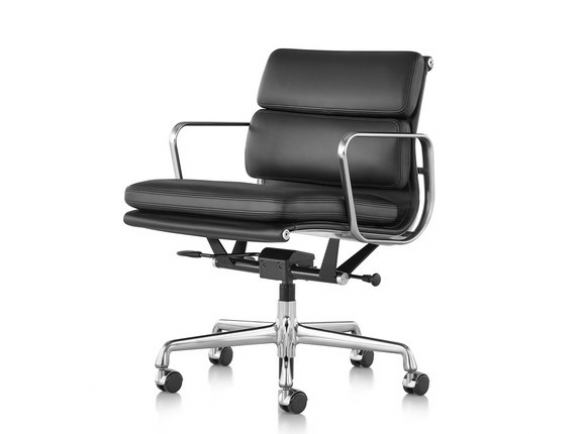 Eames Soft Pad management chair, Eames Aluminium Soft pad lounge, Eames Soft Pad meeting chairs