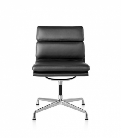 Eames Soft Pad side chair, Eames Aluminium Soft pad side chair, Eames soft pad group meeting chair