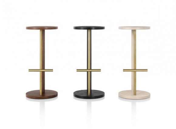 Spot Stool designed by Michael Anastassiades, Spot high stool, Spot low stool, Herman Miller Spot Stool