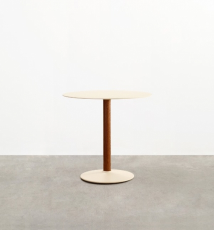 Seam Café table, Tait Seam Café table designed by Adam Cornish, Seam round dining table