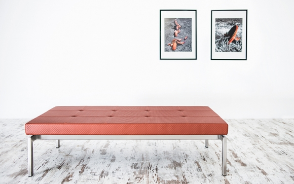 Olin Bench designed by Norman + Quaine.
