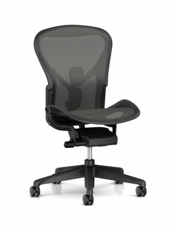 Aeron remastered by Herman Miller, Aeron no arms designed by Bill Stumpf & Don Chadwick