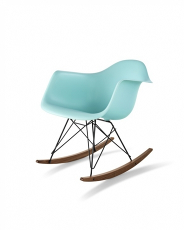 Eames Moulded Plastic Chair with Rocker base, Eames Rocker plastic shell