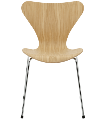 Series 7 designed by Arne Jacobsen fritz hansen, Series 7 Veneer seat