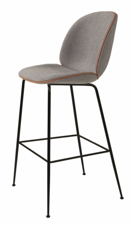 Beetle Bar Chair designed by GamFratesi for GUBI, Gubi Beetle bar stool with back, Beetle high chair by gubi