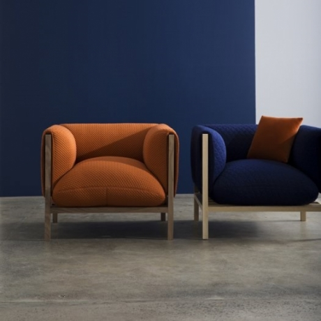 Loom armchair NAU designed by Adam Goodrum, Adam Goodrum Loom sofa, Loom Lounge by Adam Goodrum