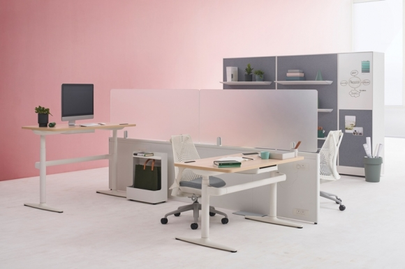 Catena Office Landscape Herman Miller, Flexible workspaces by Herman Miller Catena Office Landscape
