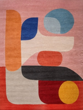 Flamingo rug designed by Olsen + Ormandy for Designer Rugs, Designer Rugs  Olsen + Ormandy collection