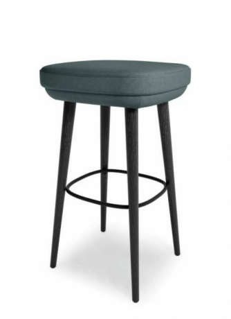 375 Barstool Walter Knoll, Walter Knoll 375 Barstool with no backrest