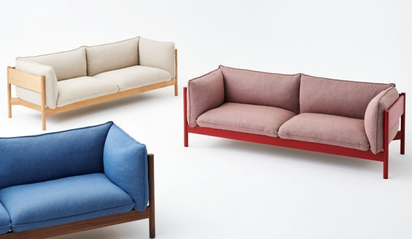 Arbour Sofa designed by Daniel Rybakken and Andreas Engesvik for HAY, HAY Arbour Eco sofa