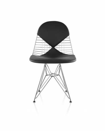 Eames Wire Chair designed by Charles and Ray Eames for Herman Miller, Herman Miller Eames Wire Side Chair
