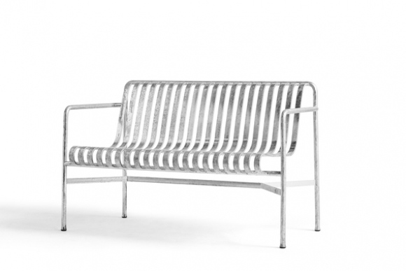 Palissade Lounge Sofa designed by Ronan and Erwan Bouroullec for HAY design, Palissade Hot Galvanised collection