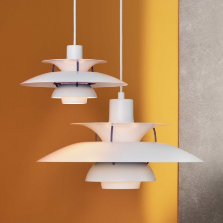 PH5 Mini and PH5 Pendant Lights designed by Poul Henningsen