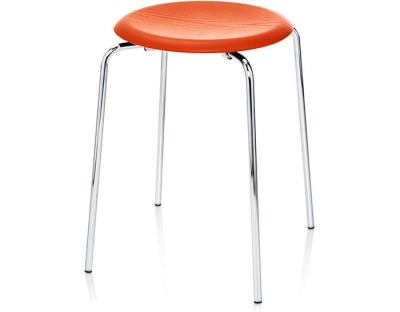 Dot Stool - orange