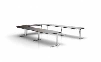 FRAME LITE conference table and desk range. 1