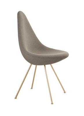 Fritz Hansen 60th Anniversary special edition Drop chair. Fritz Hansen designed by Arne Jacobsen.