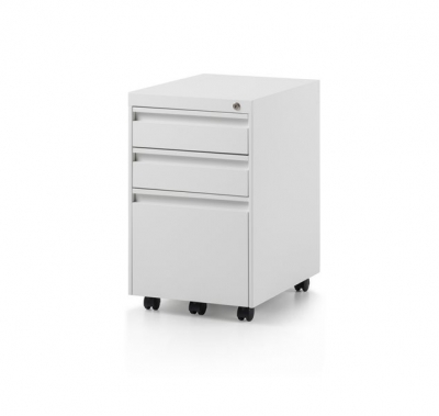 CK2 3 Drawer mobile pedestal by Herman Miller