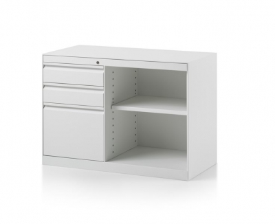 CK8 Open shelf return cabinet by Herman Miller