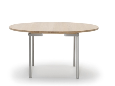 CH334 Dining Table, CH334 Round Dining Table, CH334 Table Designed by Hans J. Wegner