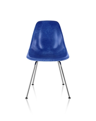 Eames Moulded Fiberglass Chair, Herman Miller Fiberglass Chair