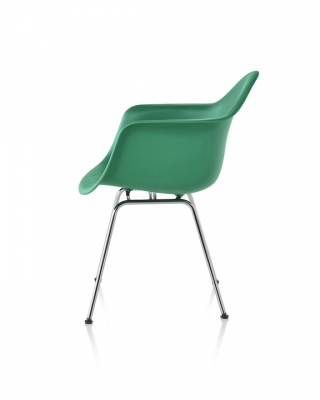 Eames Plastic Armchair, Eames DSX with arms