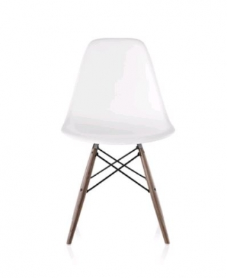 Eames Moulded Plastic Chair Dowel Base, Eames Dowel Base Chair, Eames DSW