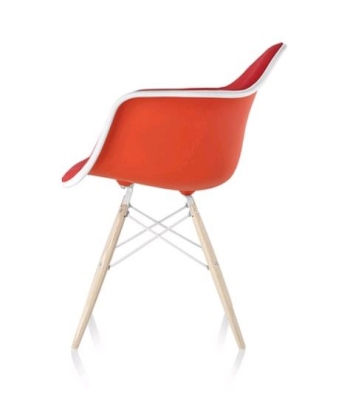 Eames plastic armchair, Eames DSW with arms, Eames Plastic Chair with arms