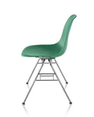 Eames Stacking Chair, Eames Moulded Side Chair Ganging Base, Eames Ganging Base Chair