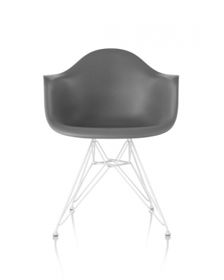 Eames Plastic Armchair DSR, Eames plastic chair with arms DSR, Eames DSR with arms