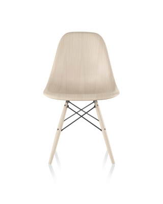 Eames Moulded Wood Side Chair, Eames Moulded Wood Side Chair Dowel Base