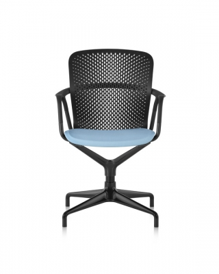 Keyn Chair, Keyn meeting chair, forpeople designed for Herman Miller, Keyn Four star base