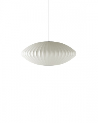 George Nelson Saucer Bubble Lamp, Nelson Bubble Pendant by George Nelson.