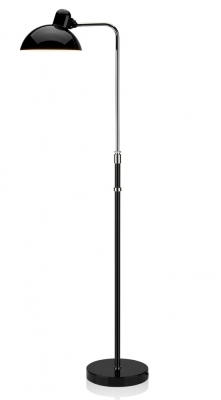 Kaiser Idell height adjustable lamp, Kaiser Idell luxus, Adjustable Kaiser idell floor lamp, kaiser idell floor lamp designed by Christian Dell, 6580-F