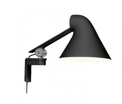 NJP Wall Lamp with Short arm, NJP Wall Lamp for Louis Poulsen, Louis Poulsen Wall Lamp Designed by Nendo