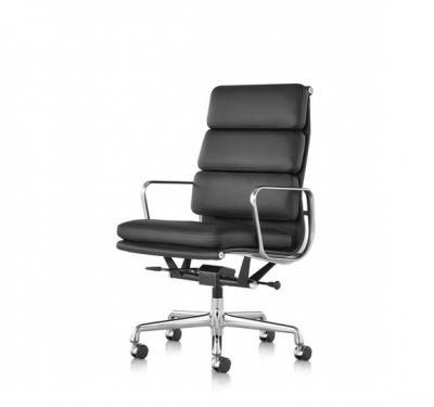 Eames Soft Pad Executive chair, Eames Aluminium Soft pad lounge