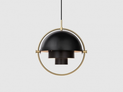 Multilite pendant designed by Louis Weisdorf for Gubi. Multi-lite by Gubi.
