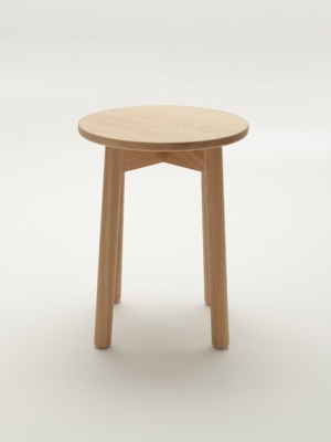 Fable low stool designed by Ross Didier, Fable stool by Ross Didier