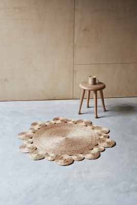 armadillo & Co flower rug, Daisy rug by armadillo&Co, Flower shaped rug by armadillo