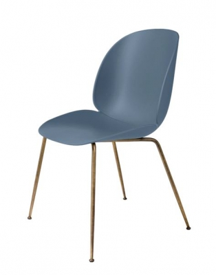 Gubi beetle chair designed by GamFratesi, Gubi dining chair by GamFratesi, unupholstered gubi beetle chair