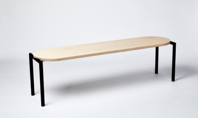 Furnished Forever bench, Benchmark by Furnished Forever, Benchmark designed by Furnished Forever