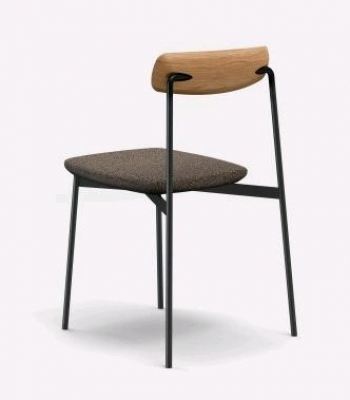 Sia chair with upholstery, Sia dining chair, Adjustable back Sia chair, Tom Fereday chair for Nau