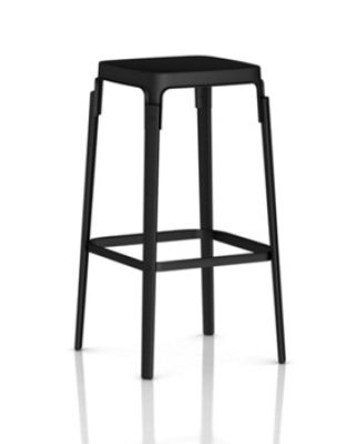Magis Steelwood Stool in Black