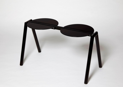 Furnished Forever double stool, Two Stance stool by Furnished Forever, Stance Stool designed by Furnished Forever
