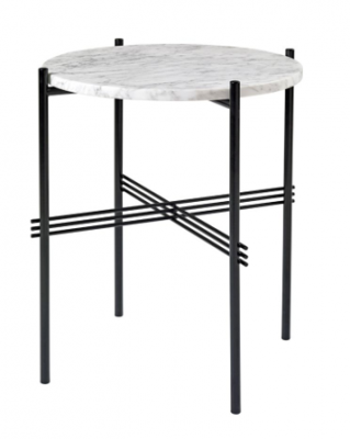 TS side table designed by GamFratesi, Gubi marble side table by GamFratesi